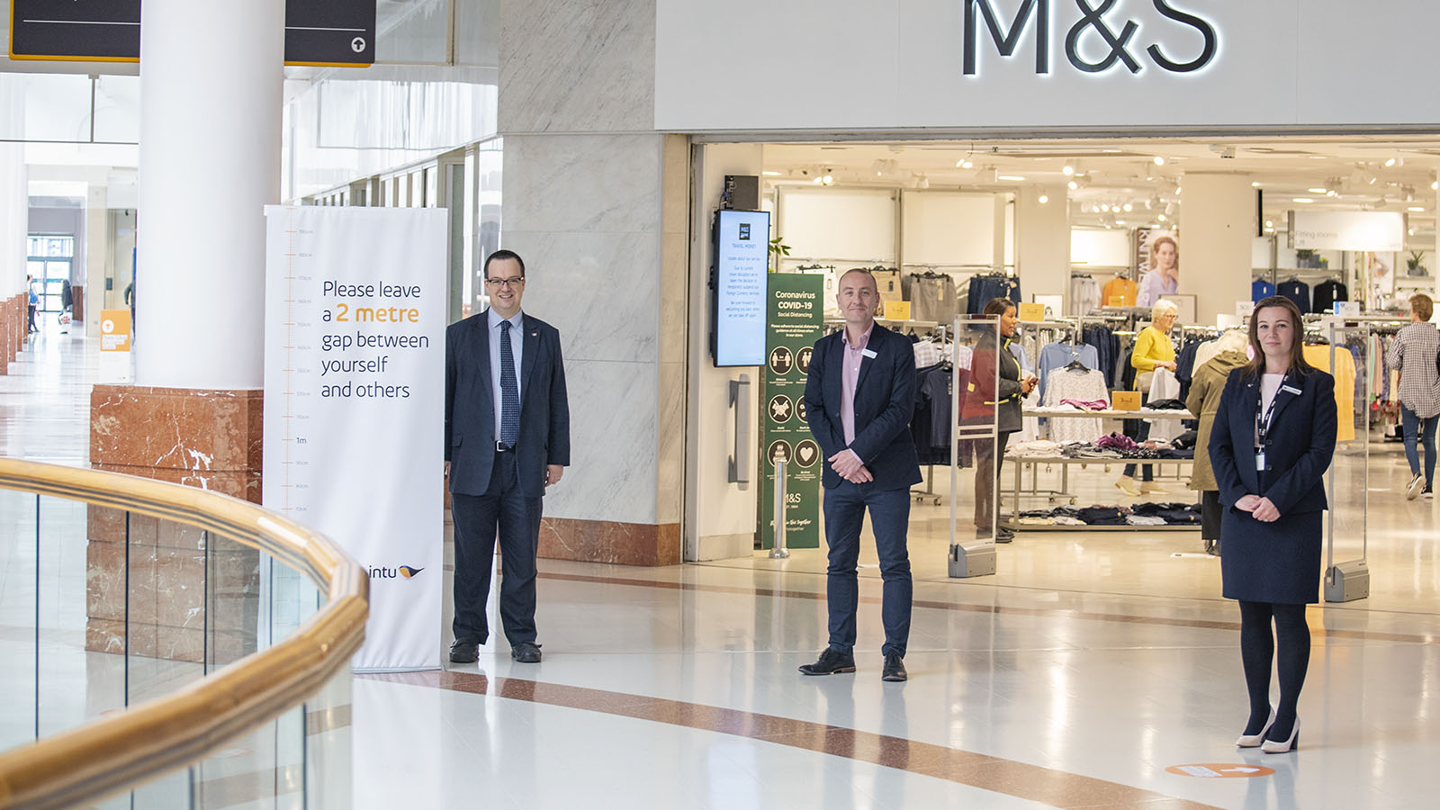Mike Wood MP visits intu Merry Hill
