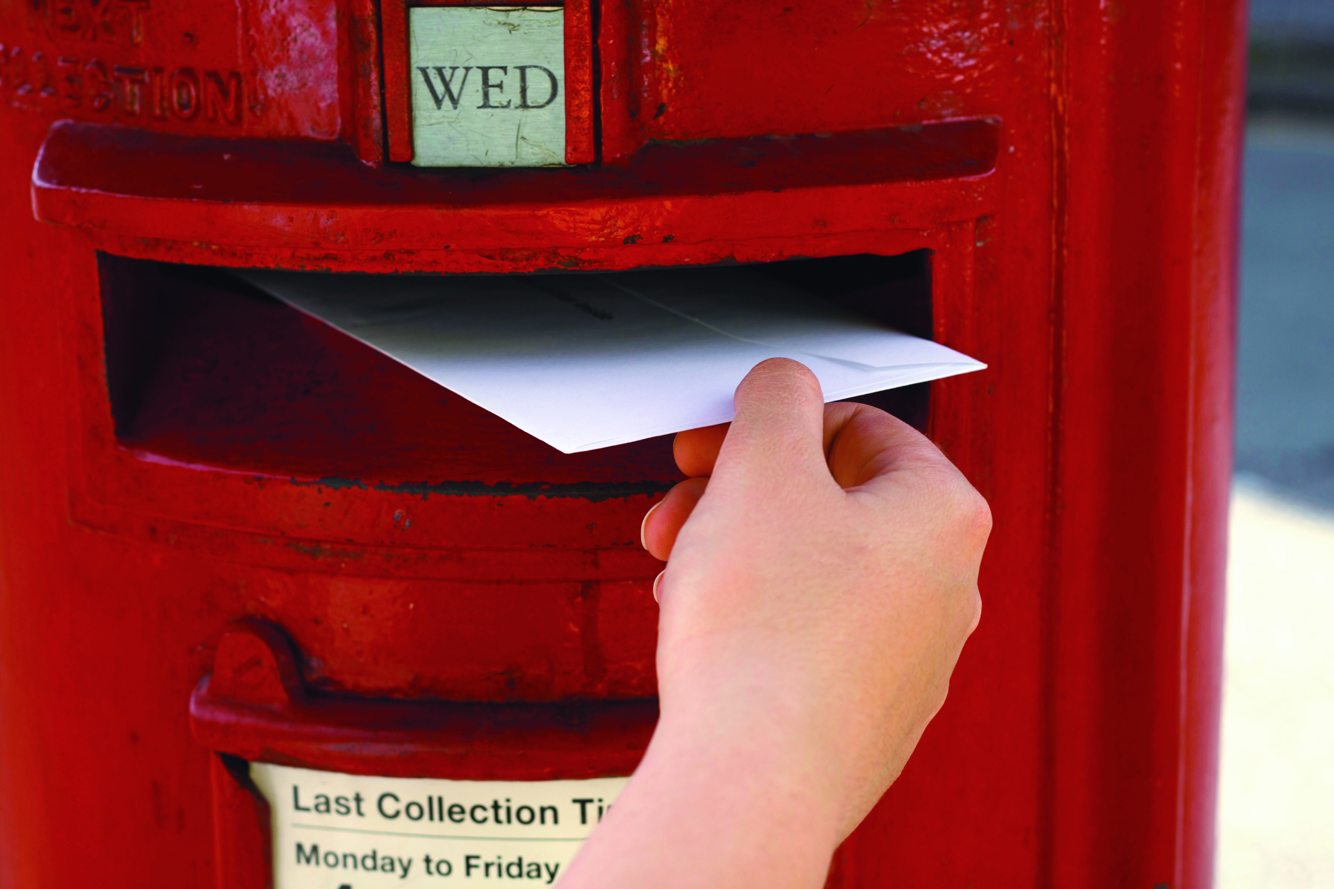 Don't lose your voice - register for a postal vote