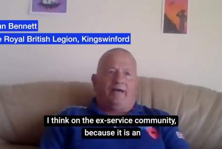 Coronavirus community information: Kingswinford Royal British Legion: Mike Wood MP