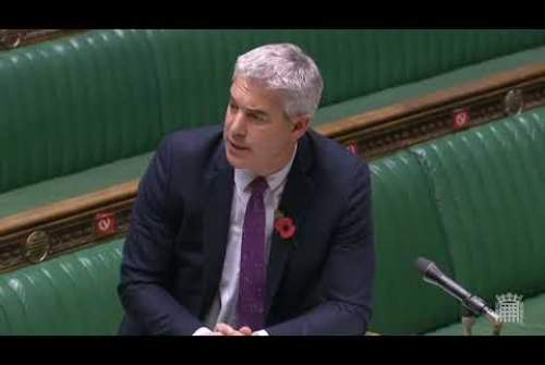 Urgent Question on the Economic Impact of the further Lockdown: Mike Wood MP